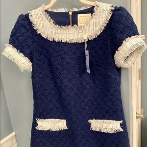 Sail to Sable short sleeve tweed dress